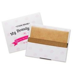[ETUDE HOUSE] My Beauty Tool Premium Yam Oil Control Paper