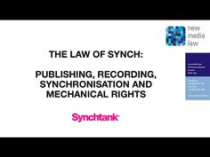 The law of sync licensing: an audiovisual slideshow