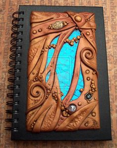 Art Glass and Clay Journal by *MandarinMoon on deviantART