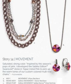 MORE POWER OF 50% OFF PRICING YIELDS ALMOST $100 OFF THIS 3-PIECE set! Buy the earrings at reg price $69 qualifies you for 50% off matching multi-row chain and necklace!! Total cost before tax & ship: $168.00! (an average of only $56 a piece!). NOW THAT'S a SALE!!! But hurry.. sales ends 1/31/15 and while supplies last!! #tonisabikalove