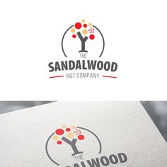LOGO is provided, Please enhance this logo for The Sandalwood Nut Company by Felix Daniel