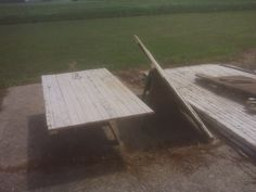 Table Top is cut!  Old Barn door from my grandparents farm; will be turning it into a table for my kitchen.