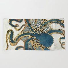 Underwater Dream VI Beach Towel