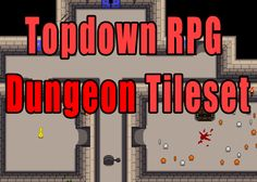 Topdown RPG Dungeon Tileset has just been added to GameDev Market! Check it out: http://ift.tt/1RySB3A #gamedev #indiedev