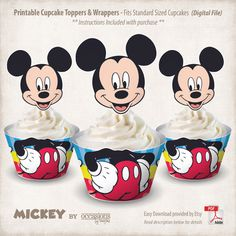 Descarga inmediata imprimible Mickey Mouse por OccasionsByMarjae