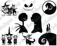 Nightmare Before Christmas SVG Collection by DrBuddhaDigital