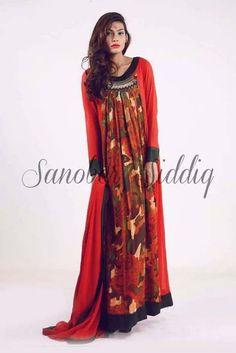 Sanober Siddiq Spring Dresses 2014 For Women