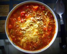 Rozmarynowy Blog: Wyśmienita zupa z soczewicą