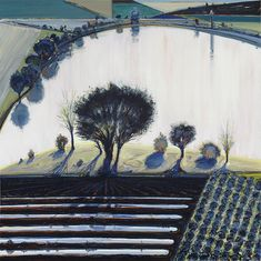 wayne thiebaud - River Pool