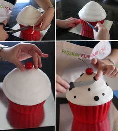 How to make a giant cupcake | Spatula Magazine