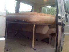 Bed for my caravelle - VW Forum - VW Forum Camping Forum, Van Camping, Camper Beds, Vw Camper, Caravelle Vw, Vw T5 Forum, Camping Resort, Camping Supplies, How To Make Bed