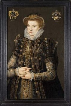 Fries Museum - Portret van Teth Douma van Oenema, vrouw van Suts van Botnia 1576