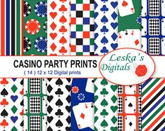 3 x Assorted Bags Casino Card Night Birthday Party Table Confetti Decoration