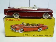 FRENCH DINKY TOYS NO.24A CHRYSLER NEW YORKER VERY NEAR MINT