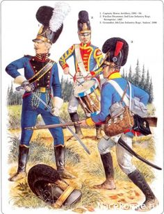 Bavarian Troops in French service 1801-1804