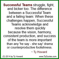 Ty Howard's Quote on Teamwork, Quotes on Team Building. Ty Howard's Quote on Teamwork, Quotes on Team Building Workplace Motivation, Workplace Quotes, Quotes Dream, Life Quotes Love, Robin Sharma, Robert Kiyosaki, Zig Ziglar, The Words, Steve Jobs