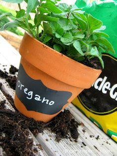 diy garden pots {tutorial}