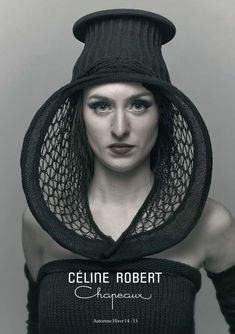 Fall-Winter 14-15 Lookbooks - Céline Robert Chapeaux