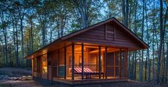 Tiny homes are, well, tiny. Here's a type designed by Kelly Davis that tops out at a comfy 400 square feet.