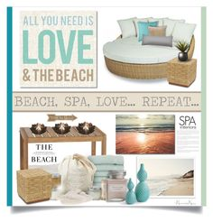 """""""Beach, Spa, Love - Repeat..."""" by nonniekiss ❤ liked on Polyvore"""