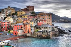 Genoa, Italy - birth place of Christopher Columbus, even saw the remains of his house ;-)