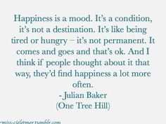 one tree hill quote   Tumblr