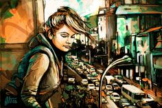 Streetart by Alice Pasquini aka AliCè