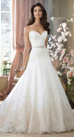 Melhores vestidos de noiva de 2014 - David Tutera para Mon Cheri