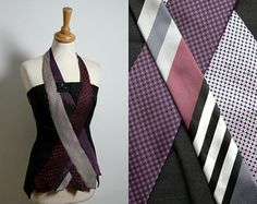 Bespoke Plum Grey Tie Corset   Made to Order from by ENIENAY, £69.00