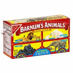 Today is the birthday of Animal Crackers, that much-favored childhood (and adult, who are we kidding! Animal crackers first came to the United States in the late century as a British import. Demand went wild (little animal humor there Circus Theme, Circus Party, Circus Birthday, Birthday Ideas, 2nd Birthday, Birthday Parties, Circus Food, Carousel Party, 90s Theme