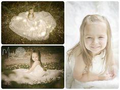Children Photography- Daughter wearing mother&-39-s wedding dress ...