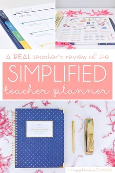 Not sure your ready to invest in the Simplified Teacher Planner? This post is an in-depth look into this teacher planner. TheAppliciousTeacher.com