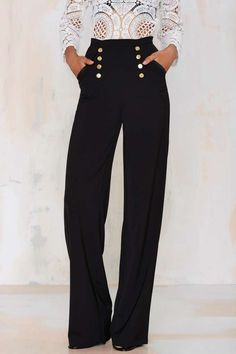 Misha Collection Katia Palazzo Pant - Pants