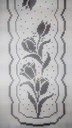 Crochet Tablecloth Pattern, Crochet Pillow Pattern, Crochet Motif, Crochet Doilies, Crochet Patterns, Cross Stitch Bookmarks, Beaded Cross Stitch, Embroidery Patterns, Cross Stitch Patterns