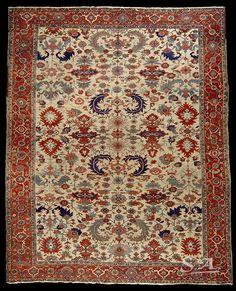 Heriz Serapi carpet