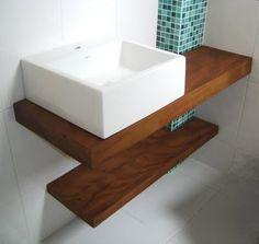 Lavabos E Bancadas, Pia Banheiro - Em Madeira De Demolição
