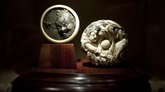 You may need a magnifying glass, but a collection of intricate Japanese carvings is well worth the visit. African Museum, Museum Displays, Magnifying Glass, Japanese Culture, Miniatures, Bling, Carving, Cape Town, Museums