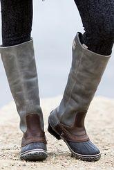 Sorel slim pack riding talk boot