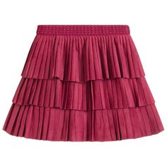 Mayoral - Girls Pink Pleated Skirt | Childrensalon Fashion Kids, Fall Fashion, Pink Pleated Skirt, Skirts For Kids, Kids Online, Pink Girl, Topshop, Girls, Outfits