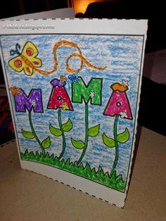 Los Niños: ΚΑΡΤΕΣ ΜΑΜΑ Mothers Day Crafts, Toy Chest, Valentines Day, Blog, Kids, 8 Martie, Party, Mason Jar Decorating, Preschool