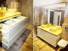 Alcove, Kitchen Island, Bathtub, Bathroom, Home Decor, Granite, Standing Bath, Washroom, Homemade Home Decor