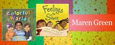 Maren Green titles (board books and hardcovers) Early Readers #reading