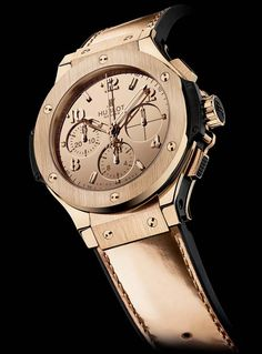 "The Watch Quote: The Hublot Big Bang Zegg & Cerlati watch - ""The superiority of women"" - A watch designed for strong, dynamic women"