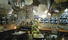 Cellar under The Rams - (Piwnica pod Baranami located in The Main Square - The Old Town district - Krakow, Poland