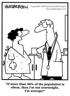 Way to think positive! ;-) | via @SparkPeople #humor #diet #weight #funny #cartoon