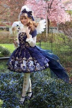 Hellocon Day 2, Tea Party: Crystal Dream Carnival PegasusLast Sunday was the fantastic Hellocon tea party with Angelic Pretty. The theme of the teaparty was Fairytale Theatre so I decided to go with pegasus inspired outfit. I made the wings and the bustle train myself. Here you can find more information and images of the outfit.