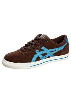 a164998e31409 AARON LE - Trainers - brown   blue   Zalando.co.uk 🛒
