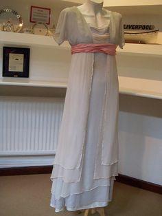 "From ""Titanic"" (1997) worn by Kate Winslet as Rose DeWitt Bukater design by Deborah Lynn Scott"