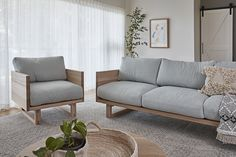 Be seated in comfort and style with solid timber construction that's designed to last. Sofa, Couch, Ticks, Interior Inspiration, Love Seat, Natural Beauty, Living Spaces, Coastal, Armchair