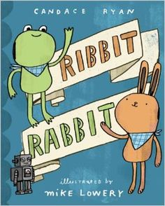 Theme: Friendship This is a rhyming picture book, which is appropriate for all ages but recommended for the younger grades (i.e. K-2), about two friends named Frog and Bunny. Frog and Bunny do everything together, but sometimes they get into fights. They always work it out in the end, though. This is a fun book full of silly words that can teach children about the ups and downs of friendship.